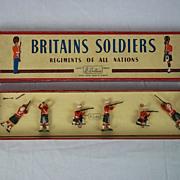 Britains Soldiers - Set: Argyll & Sutherland Highlanders - ROAN Box