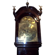 Magnificent English c1880 3 Train Westminster Chimes & Striking 8 Day Mahogany Longcase Clock