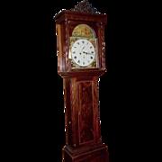 Fine Mahogany 8 day longcase clock - McMillan Scotland, Glasgow c1840