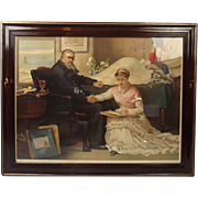 The North-West Passage 1874 Framed Chromolithograph Print