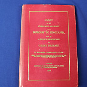 Diary Of An Overland Journey From Bombay To England By Ardaseer Curserjee