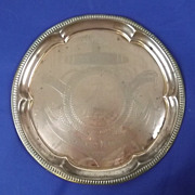 Lord Nelson's Victory Large Copper Commemorative Tray, 1905
