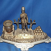 Crimean War Era Officer's Desk Ornament by E. G. Zimmermann Hanau, c.1850-60's