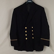 1970's Merchant Navy 4th (Uncertified) Officers Reefer Jacket #2