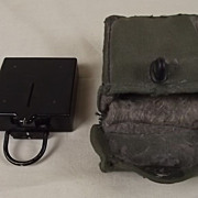 c1930 Mark 1 Marching Compass By T.G. Co Ltd. With Canvas Pouch