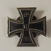 Original WW1 Screw Back German 1914 Iron Cross, First Class