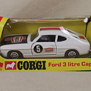 Corgi Toys 331 Ford 3 Litre Capri Rally GT