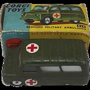 Corgi 414 Bedford Military Ambulance - Boxed