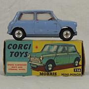 Boxed Corgi 226 Morris Mini-Minor 1960-68 Spun Hubs