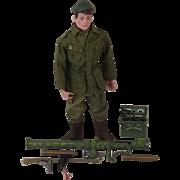 Action Man Green Beret With Bazooka