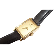 Wonderful Vintage 18 ct Gold Jaeger Le Coultre Ladies Watch