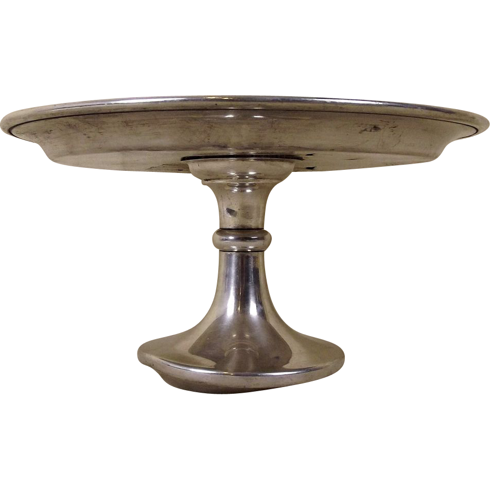 Sterling Silver Cake Stand Tazza From The Ship Duke Of