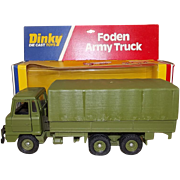 Dinky Toys No. 668 Foden Army Truck, Boxed #2