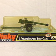 Boxed Dinky Toys #625 - 6 Pounder  Anti-Tank Gun #1