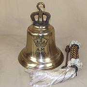 WWII RAF Scramble Bell Air Ministry 1945