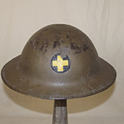 WW1 American 2nd Pattern Brodie 33rd Infantry Division Helm