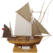 French Tunny Fishing Boat Model By J.H.Gibbens