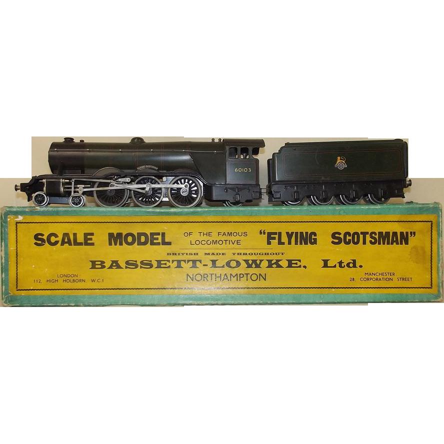 bassettlowke 0 gauge flying scotsman electric locomotive