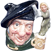 Royal Doulton Small Character Jug Of Tam O'Shanter by Max Henk