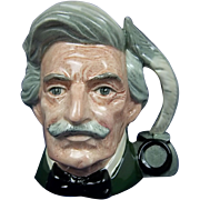 Royal Doulton Small Character Jug of Mark Twain by Eric Griffiths
