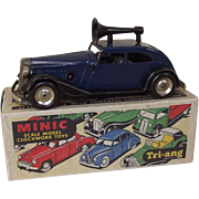 Triang Minic No.29M Pre-war Traffic Control Police Car