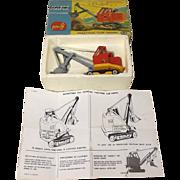 Boxed Corgi Toys Major 1128 Priestman Cub Shovel