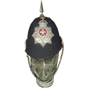 Edwardian Sherwood Foresters 2nd Volunteer Battalion O/R Spiked Helmet