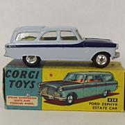 Boxed Corgi 424 Ford Zephyr Estate (Two Tone) 1961-65