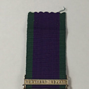General Service Medal - Northern Ireland Clasp - GNR T.Flynn R.A.