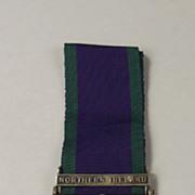 General Service Medal - Northern Ireland Clasp - GNR P.Lenton R.A.