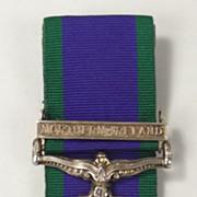 General Service Medal - Northern Ireland Clasp - GNR B.A.Feeney R.A.