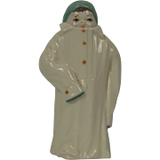 Vintage Royal Worcester Toddie Candle Snuffer Figurine, 1976