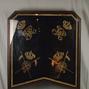 Victorian 9th Lancers Horse Shabraque Saddle Cloth In Fireguard