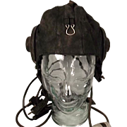 1940 Pattern Russian Pilots Helmet With Headset