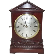 c1820 Regency Twin Fusee Mahogany Bracket Clock - James Murray, Royal Exchange London