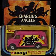 Boxed Corgi 434 Charlies Angels Van 1978-80