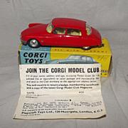 Boxed Corgi Toys 210S Citroen D.S. 19