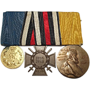First World War German 3 Medal Group Inc. Honour Cross