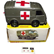 Boxed French Dinky Toys 807 Ambulance Militaire Renault Carrier