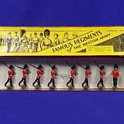 Britains Soldiers Set 1559 - Lancashire Fusiliers - 1937 Version