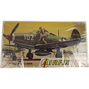 Sealed Airfix Bell P-39Q Aircobra 1/72nd Scale Aircraft Boxed Kit 1963