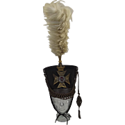 Circa 1840 29th Worcestershire Regiment Of Foot Officers Kiver Shako