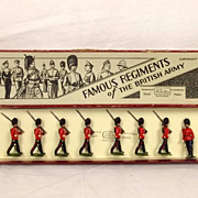 Britains - Set 1581 - The Royal Irish Fusiliers - 1937 Version
