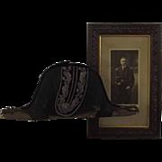 Edwardian Deputy Lieutenant Bicorn & Photograph Of The Original Owner