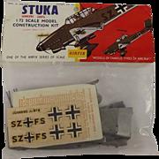 Sealed Airfix 1/72nd Scale Series 1 - Junkers Ju87B Stuka 1959/63