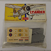 Airfix 1/72nd Scale Series 1 Westland Lysander Type 2 Bagged Kit 1959