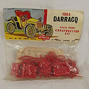 Airfix  1/32nd Scale 1904 Darracq Car Kit 1959, 2nd Issue