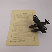 Givejoy Toys Skybirds 1/72nd Scale Aircraft Series Model No 10 Sopwith Schneider