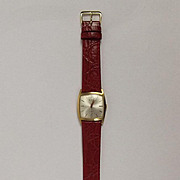 Gents Rox-Incabloc Gold Plated  Wristwatch C1970