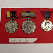 Queens & Khedive Sudan Medal Trio Drummer H. Smith Seaforth Highlanders